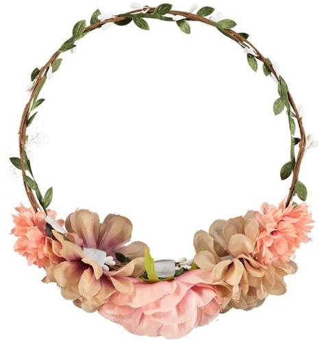 Roze Tiroler Trachten Haarband Marry