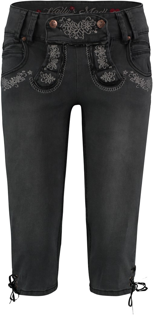 driekwart broek dames jeans